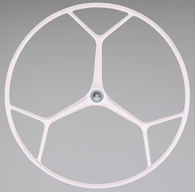 rueda de timon de fibra de vidrio