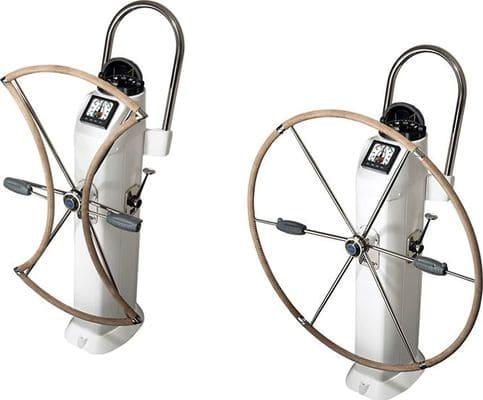 rueda de timon plegable