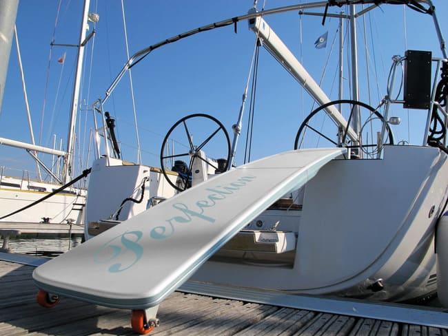 pasarelas plegables para barcos
