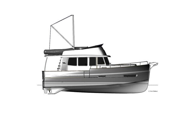 Plano Rhea 34 trawler
