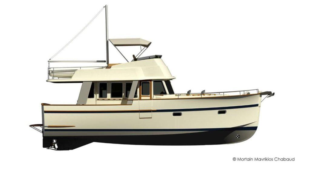 Plano Rhea Trawler 43