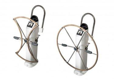 rueda plegable de timon para barcos