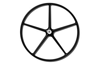 rueda de timon de carbono