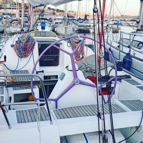 ruedas de timon para barcos